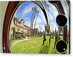 Reflections Of A 1937 Cord Acrylic Print