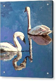 Reflections Of A Kiss Acrylic Print