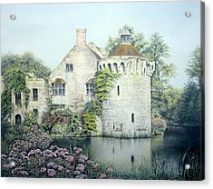 Acrylic Print featuring the painting Reflections Of England by Rosemary Colyer
