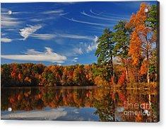 Reflections Of Fall Acrylic Print