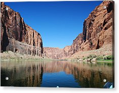 Reflections Of Glen Canyon Acrylic Print by Robert  Moss