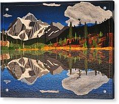 Reflections Of Mt.shuksan Acrylic Print
