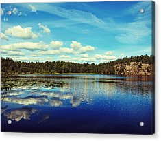 Reflections Of Nature Acrylic Print by Nicklas Gustafsson