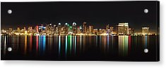 Reflections Of San Diego Acrylic Print
