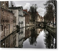 Reflections Of The Past ... Acrylic Print