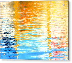 Reflections Of The Setting Sun Acrylic Print