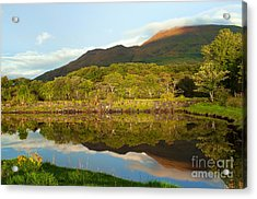 Reflections On Loch Etive Acrylic Print