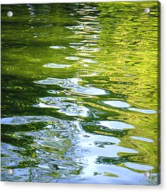 Reflections On Madrid Acrylic Print