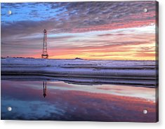 Reflections On Pensacola Bay Acrylic Print by JC Findley