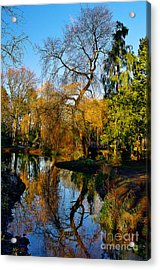 Reflections On The Lake Acrylic Print