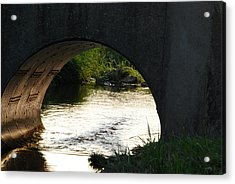 Acrylic Print featuring the photograph Reflections by Ramona Whiteaker