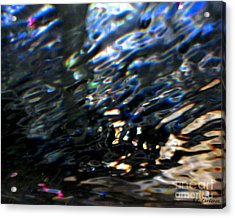 Reflections Acrylic Print by Rebecca Christine Cardenas