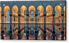 Reflections Acrylic Print by Stefan Schilbe