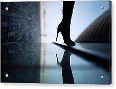 Reflections Acrylic Print by Yuri Shepelev