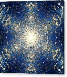 Reflective Ice I Acrylic Print by Derek Gedney