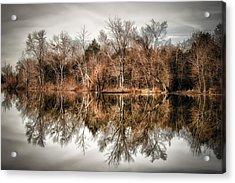 Reflective Morning Acrylic Print
