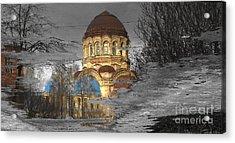 Reflekt Spring Acrylic Print by Yury Bashkin