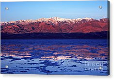 Reflex Of Bad Water Acrylic Print