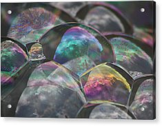 Refraction Acrylic Print by Cathie Douglas