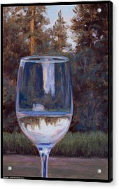 Refraction Acrylic Print by Diana Moses Botkin