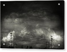Refraction Acrylic Print by Taylan Apukovska