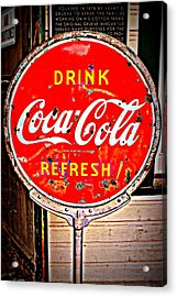 Refresh Acrylic Print by Beth Vincent