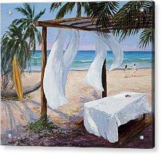 Refreshed Acrylic Print by Mary Giacomini