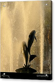 Refreshing Pause Acrylic Print by Mariarosa Rockefeller