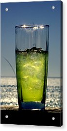 Refreshment Acrylic Print by Rebecca West