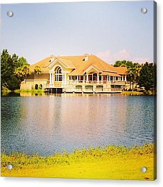 Regatta Bay #golf #destin #iphone5 Acrylic Print