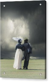 Regency Couple Acrylic Print by Joana Kruse