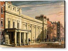Regency Theatre, London, 1826 Acrylic Print