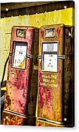 Acrylic Print featuring the photograph Regular Gasoline by Steven Bateson