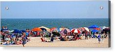 Rehobath Beach Delaware Acrylic Print