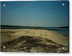 Acrylic Print featuring the photograph Rehoboth Bay Beach by Amazing Photographs AKA Christian Wilson
