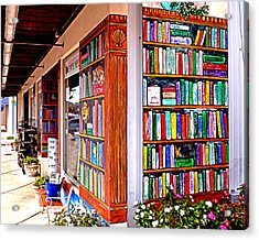 Rehoboth Beach Browseabout Books Acrylic Print
