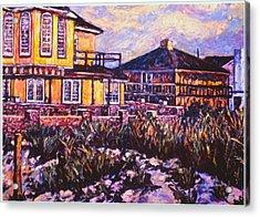 Rehoboth Beach Houses Acrylic Print