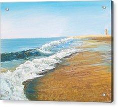 Rehoboth Beach Sunrise Acrylic Print