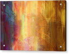 Reigning Light - Abstract Art Acrylic Print