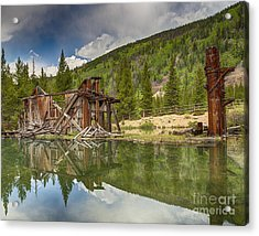 Reiling Dredge Reflection  Acrylic Print