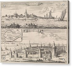 Reimerswaal In Past And Present Times, 1634 Acrylic Print