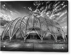 Reinforced Technology - Bw Acrylic Print by Marvin Spates