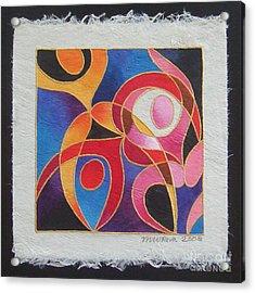 Reki I - Dance For Joy Acrylic Print