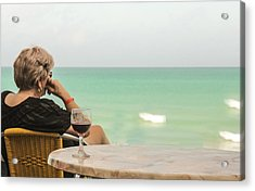 Relax And Enjoy The View Acrylic Print