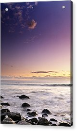 Relax And Moon Acrylic Print by Cristo Bolanos