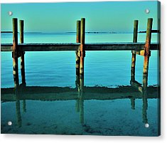 Relax Acrylic Print by Benjamin Yeager