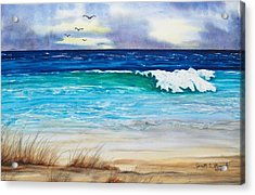 Relax Acrylic Print by Jeanette Stewart