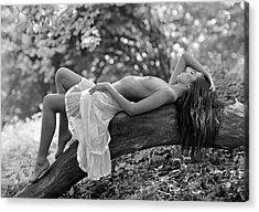 Relaxation Acrylic Print by Roman Lipinski ?