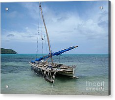 Relaxing After Sail Trip Acrylic Print by Jola Martysz