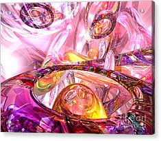 Released Happiness Acrylic Print by Alexander Butler